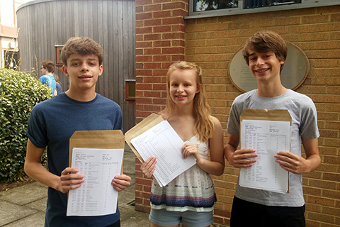Triplets receive their results