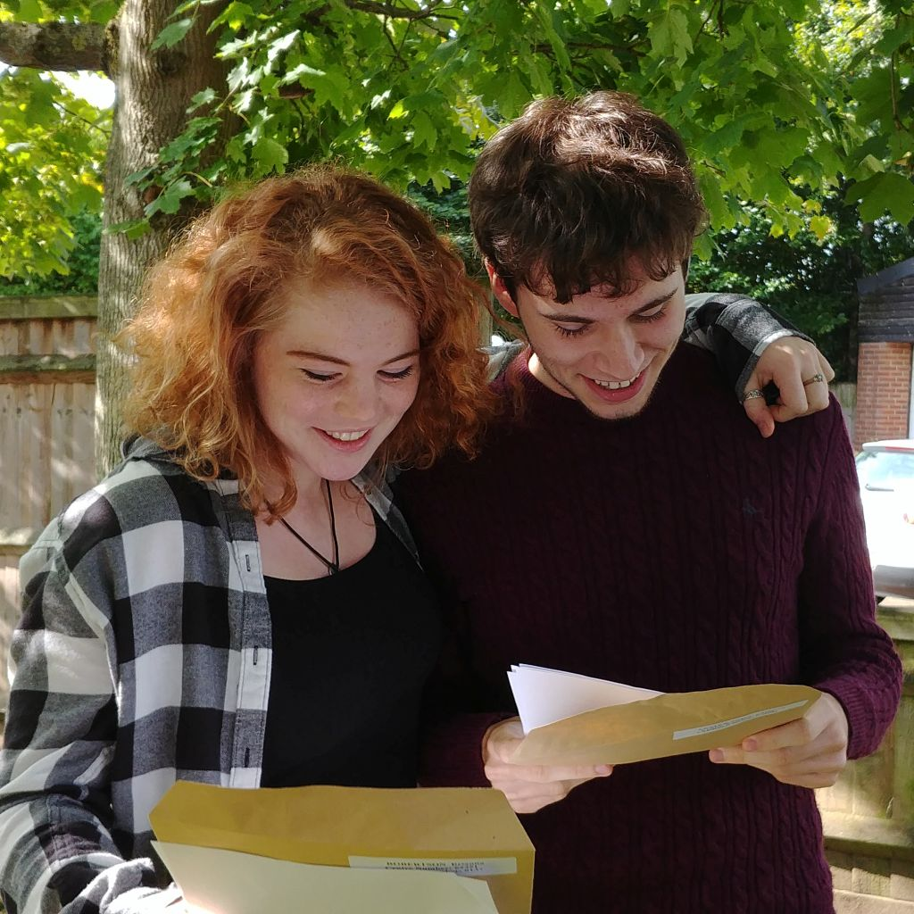 Students pleased with their results